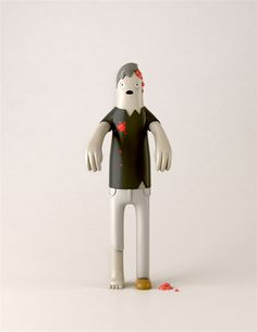 Cute Zombie toy. Yum Yum Toys Series 1 & 2 by Yum Yum , via Behance