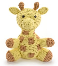 Stretch the Giraffe / Gitty, die Giraffe - $14.99 (as part of an Ebook / Book) by Stacey Trock of Fresh Stitches