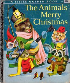 Vintage Bookshelf :: The Animals' Merry Christmas