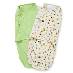 Summer Infant Original Swaddle-Jardin secret-Small-Pack de 3