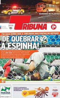 Brazilian papers after Germany 7x1 Brazil