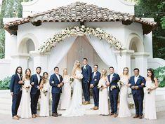 Romantic Blush Wedding at Rancho Las Lomas Wedding Blog, Wedding Photos, Wedding Ideas, Wedding Parties, Group Photos, Bridesmaid Dresses, Wedding Dresses, Portrait Inspiration, Blush
