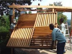 Flex·fence louvered hardware for fences, decks , pergolas, hot tub privacy and so much more! - Do-it-yourself Projects - Project 15 - Pictor...