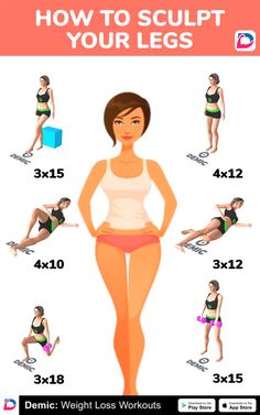 Home Sculpt Your Legs Workout – Fitness training Gym Workout Tips, Fitness Workout For Women, At Home Workout Plan, Body Fitness, Fitness Workouts, Butt Workout, Easy Workouts, At Home Workouts, Workout Routines