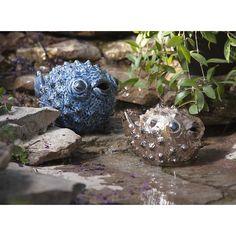 Imax Bubble Fish - Set Of 2.