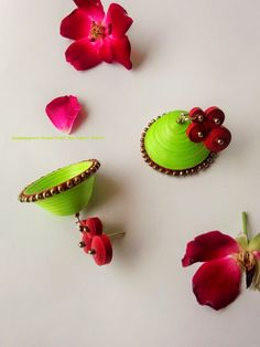 This is a quilled jhumka My facebook link is littlebeads.in blog link is http://kadalaspoov.blogspot.in/