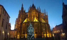 Prague Castle by night-2 weeks to Xmas 2013