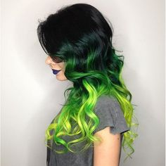 Top 25 Green Ombre Hair Colors - Hair Colors Ideas