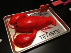 @Devon Dunlap @Andrea Chang and Vic made this phenomenal lobster cake for my birthday