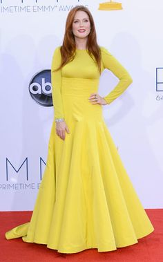 Julianne Moore at The #Emmys