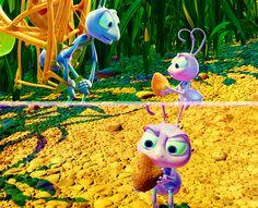 """A BUG'S LIFE: """"Pretend it's a seed.""""/""""It's a rock."""" #ABugsLife #Disney #Pixar"""