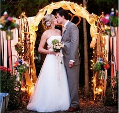 8' Lighted Archway With 200 White Lights Included $95