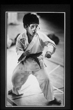 Photo Title  Karate Kid  Photographer/Creator  Fred Comegys  Collection  1987