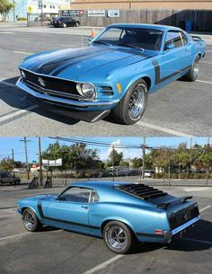 1960 #Ford #Mustang #Boss 302