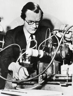 Maurice H F Wilkins. Three of three Nobel Prize Recipients who Co Discovered the DNA Structure of the Double Helix