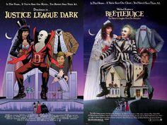 Justice League Dark 40 Voltar para DC Comics faz mês de homenagem a cartazes de filmes - veja as capas das HQs