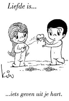 liefde-is-plaatje Love Is Cartoon, Love Is Comic, What Is Love, I Love You, My Love, Quotes Gif, Love Quotes, Free Mind, Famous Couples