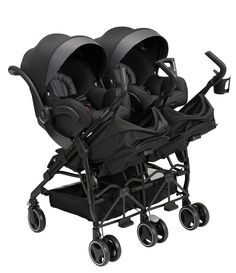 Little ones from newborns to toddlers will travel in perfect comfort in Maxi-Cosi Dana Double Side by Side stroller. Traveling with twins or close-in-age siblings is simple with this unique double stroller. It's not only big enough for two children t Double Stroller For Twins, Double Baby Strollers, Best Double Stroller, City Select Double Stroller, Best Twin Strollers, Baby Jogger Stroller, Baby Gadgets, Twin Babies, Twin Baby Rooms