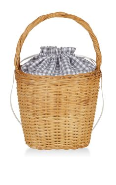 Lily Gingham Basket Tote .... one of the reasons I can't wait for Spring.                                                                                                                                                                                                                                                                                                                                                                                                                                                                                                                                                             Moda Operandi