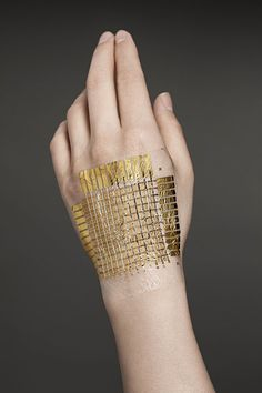 """Smart"" Skin - Super Thin And Flexible Circuits Clear The Way For Truly Wearable Computers #wearabletech"