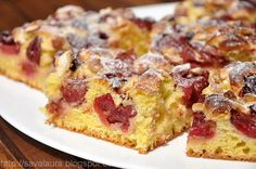 Cherry Nut Coffee Cake from Pillsbury® Baking Crisco Recipes, Cake Recipes, Good Food, Yummy Food, Food Cakes, Appetizers For Party, Coffee Cake, Ricotta, Sweet Tooth