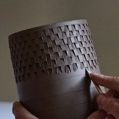 Bildresultat för stämpla mönster keramik