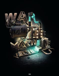 WAR OF THE MACHINES - ///3 XX on Behance