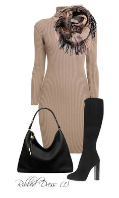 Ribbed Dress (1) by billi29 on Polyvore featuring Rumour London, Dsquared2, Michael Kors and maurices