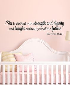 Another great find on #zulily! DecorDesigns Proverbs Decal by DecorDesigns #zulilyfinds