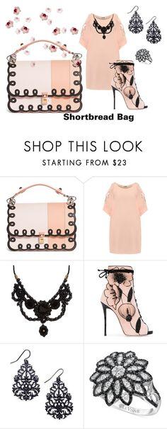 """Shortbread Bag"" by flowerbud77 on Polyvore featuring moda, Fendi, WearAll, Gucci, Giuseppe Zanotti, Thalia Sodi y LE VIAN"