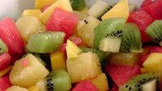 Tropical fruit Salad Recipe - Laura in the Kitchen - Internet Cooking Show Starring Laura Vitale