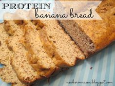 Protein Banana Bread Recipe - totally making muffins out of these!