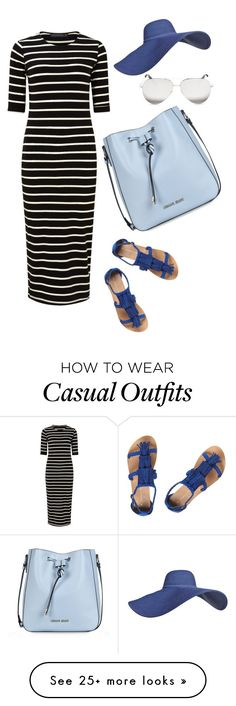 """""""Casual Saturday"""" by tessa-cassie on Polyvore featuring Sugarhill Boutique, Dorothy Perkins, Victoria Beckham and Armani Jeans"""