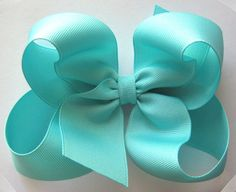 Tiffany blue boutique bow!
