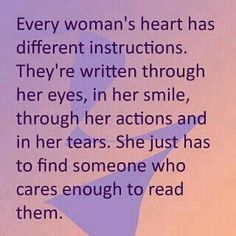 quotes about women of God | Women Quotes heart instructions written smile actions cares - Online ...