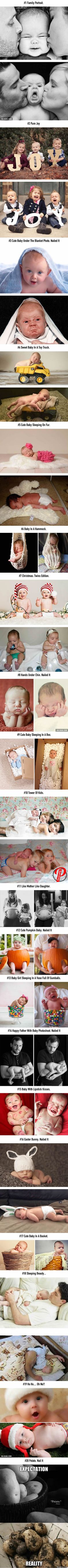 20 Hilarious Baby Photoshoot Fails - 9GAG