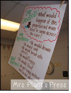 Gingerbread Man - What would happen if the Gingerbread Man tried to swim across the river? - science
