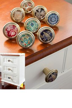 find this pin and more on gegenstnde decorative knob - Decorative Drawer Knobs