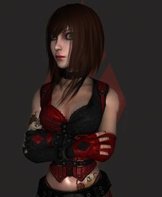 AliceHarleyQuinnn wip2 by tombraider4ever.deviantart.com on @DeviantArt