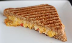 Need a dinner idea? How about grilled sandwiches? This one will knock your socks off it's so good... Oh and as an update to this post my kids do like pimento cheese now! It's totally worth it to keep trying over and over again when it comes to stuff like this