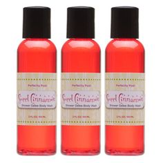 Sweet Cinnamon Shower Gelee, travel sizes!  Pack of 3.