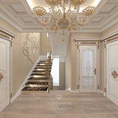 Foyer Design, House Design, Luxury Interior, Interior Design, Classic Doors, 2017 Design, Luxurious Bedrooms, Luxury Living, Home Fashion