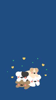 [똥강아지들] 옹기종기 : 네이버 블로그 Vs Pink Wallpaper, Cute Pastel Wallpaper, Wallpaper Stickers, Bear Wallpaper, Kawaii Wallpaper, Aztec Wallpaper, Screen Wallpaper, Cute Wallpaper Backgrounds, Wallpaper Iphone Cute