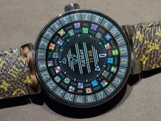 Hands-on review & original photos of the Louis Vuitton Tambour Horizon Luxury Smartwatch with price, specs, & expert analysis.