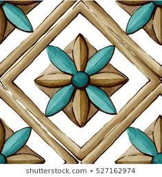 Mandala Art, Decoupage, Ceramic Tile Art, Italian Pottery, Diy Canvas Art, Decorative Tile, Design Reference, Embroidery Designs, Stencils