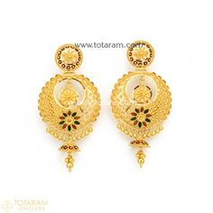 Gold Jewelry For Sale Gold Jhumka Earrings, Jewelry Design Earrings, Gold Earrings Designs, Gold Drop Earrings, Indian Gold Jewellery Design, Antique Jewellery Designs, Silver Ring Designs, Gold Jewelry Simple, Bali
