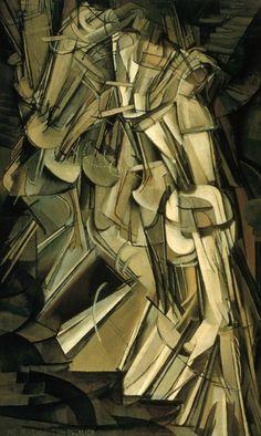 Marcel Duchamp - Nu descendant l'escalier n°2