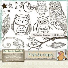 owl stamps - Google Search