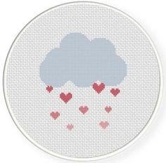 Looking for your next project? You're going to love Love Shower Cross Stitch Pattern by designer teamembro3703945.