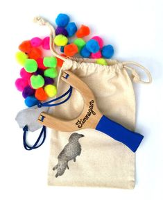 Handmade Christmas Gift Ideas For Everyone On Your List | Pom Pom Slingshot Toy